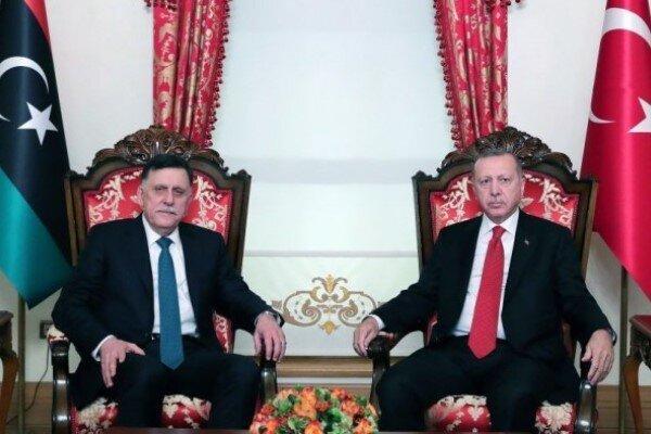 اردوغان: برای ارائه هرگونه پشتیبانی نظامی به لیبی آمادگی داریم