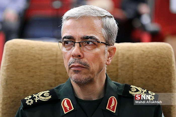 پیغام تبریک سرلشکر باقری به فرماندهان نیرو های مسلح کشور های مسیحی دنیا