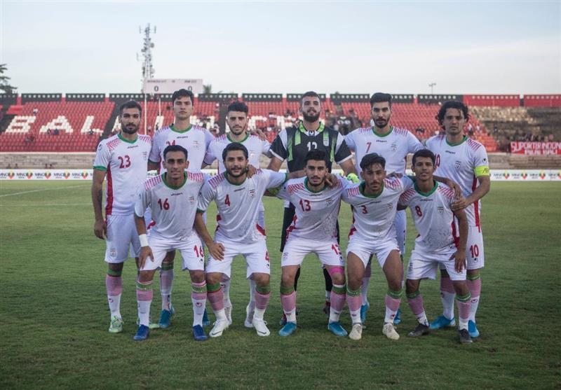 اعلام ترکیب تیم فوتبال امید ایران برای ملاقات مقابل قطر