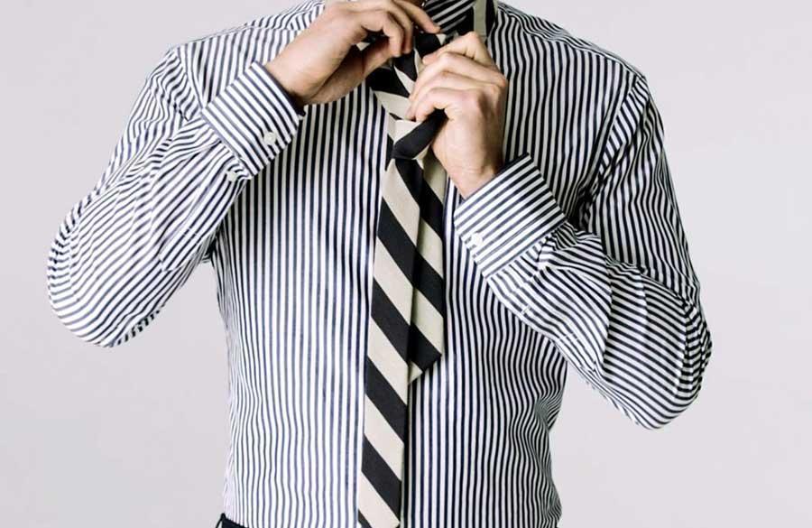 آموزش تصویری بستن انواع گره کراوات