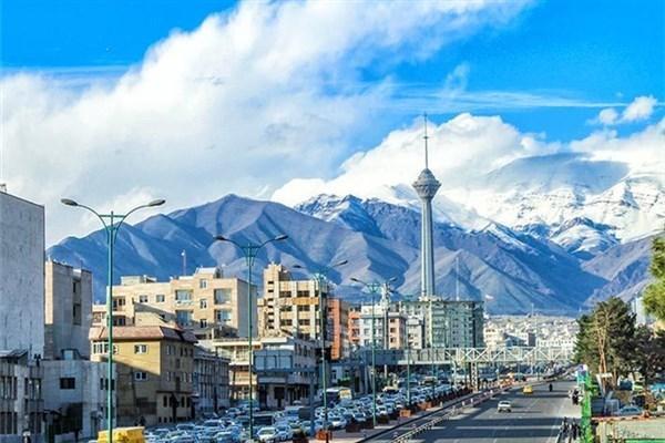 هوای تهران در شرایط سالم واقع شده است