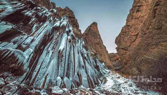آبشار مارگون ، ودیعه عصر یخبندان!