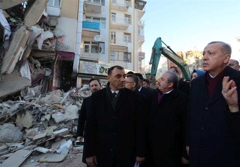 زلزله الازیغ ترکیه در قاب تصویر