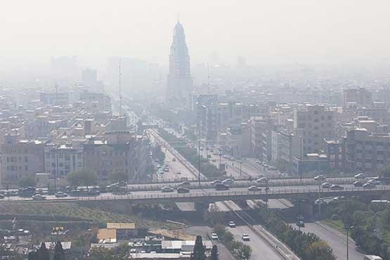 هوای تهران در 22 اسفند ماه؛ ناسالم برای گروه های حساس است