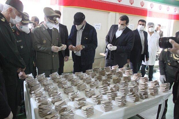 وزارت دفاع ماسک های فیلتردار پیشرفته یونی فراوری کرد